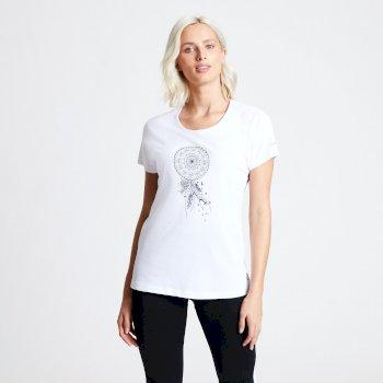 T-shirt Femme avec imprimé PARRALEL Blanc