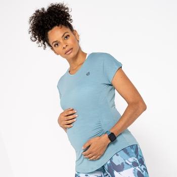 T-shirt Femme Spécial Maternité VIGILANT Vert