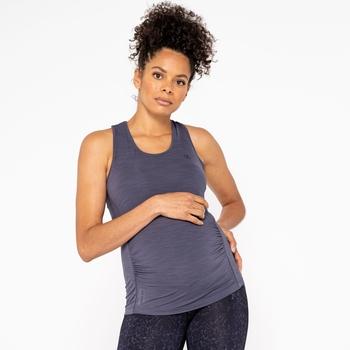Women's Maternity Modernize Vest Ebony Grey