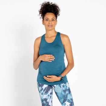 Women's Maternity Modernize Vest Dragonfly Green