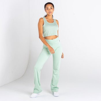 Women's Lounge About Crop Top Soft Jade
