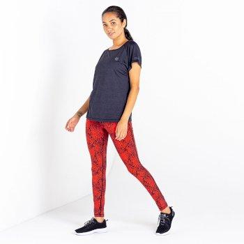 Women's Deftly T-Shirt Black Marl