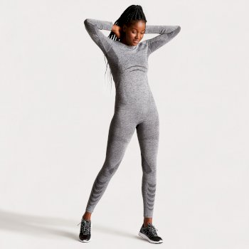 Women's Zonal III Base Layer Set Charcoal Grey