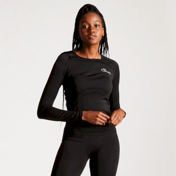 Women's Zonal III Long Sleeve Base Layer Top Black