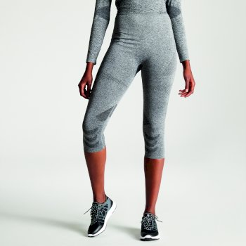 Women's Zonal III 3/4 Legging Base Layer Charcoal Grey