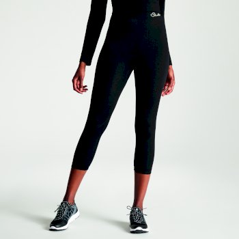 Women's Zonal III 3/4 Legging Base Layer Pants Black