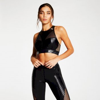 Dare 2b X Julien Macdonald - Women's Provocate Sports Bra Black