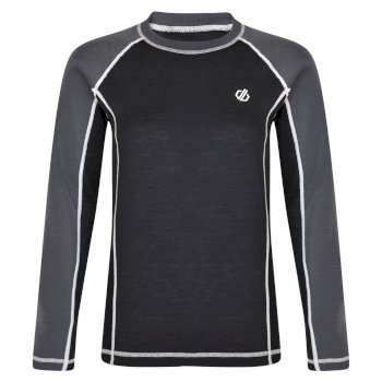 Women's Advanced Wool Base Layer Set Black Ebony