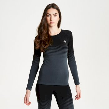 Women's In The Zone Performance Base Layer Set Black