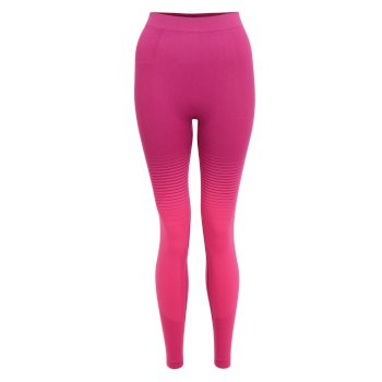 Women's In The Zone Performance Base Layer Set Cyber Pink
