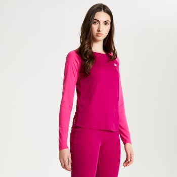 Women's Exchange Thermal Base Layer Set Fuchsia Cyber Pink