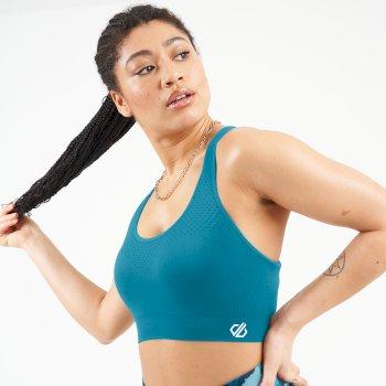 Brassière Sport Femme DON'T SWEAT Bleu