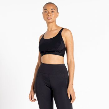 The Kate Ferdinand Edit - Hi Impact Sports Bra Black
