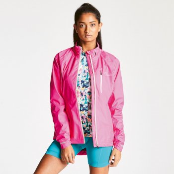 Women's Mediator Waterproof Jacket Cyber Pink
