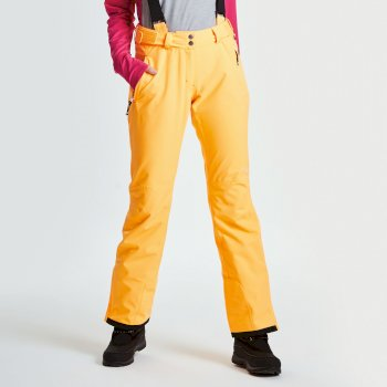 Women's Stand For II Ski Pants Orange Burst