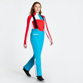 Salopette de ski technique Femme ANTEDATE Bleu