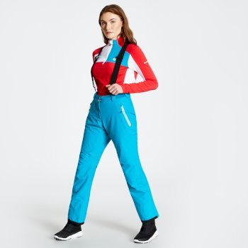 Women's Effused Ski Pants Fresh Water Blue