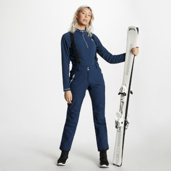 Pantalon de ski technique Femme EFFUSED Bleu