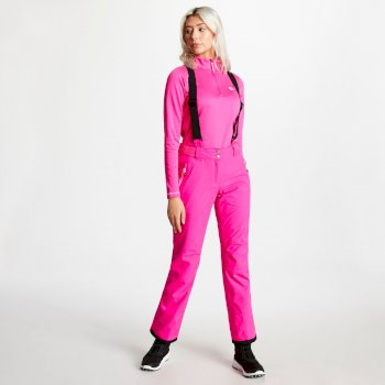 Pantalon de ski technique Femme EFFUSED Rose