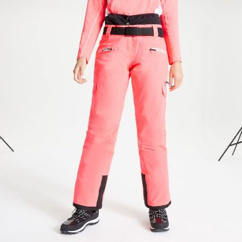 Women's Liberty II Waterproof Insulated Ski Pants Neon Pink