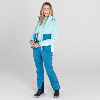 Women's Effused II Waterproof Ski Pants Dark Methyl