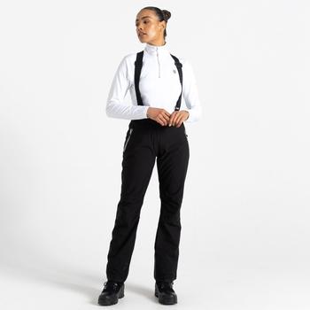 Salopette de ski Femme imperméable EFFUSED II  Noir