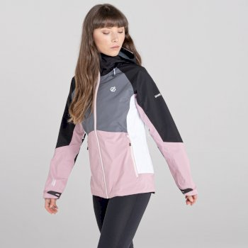 Women's Checkpoint II Jacket Powder Pink Black