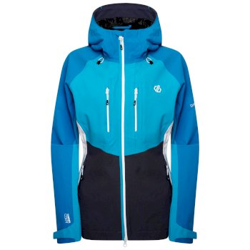 Women's Diverse Waterproof Jacket  Blue Reef Freshwater Blue