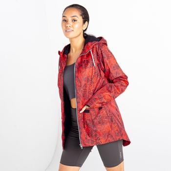 Women's Deviation II Lightweight Jacket Red Viper Print