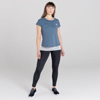 Women's Considered 3 in 1 T-Shirt Meteor Argent Grey