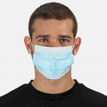 Disposable Medical EN14683 Type I Face Mask 50 Pack Blue